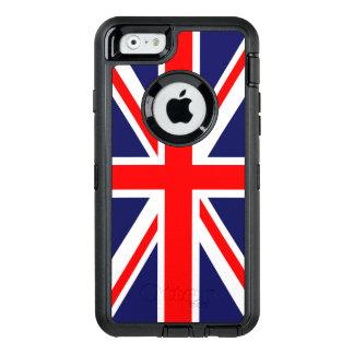 Bandera de Union Jack Funda OtterBox Defender Para iPhone 6