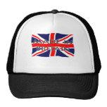 Bandera de Union Jack - hecha en Gran Bretaña Gorro