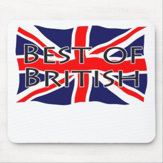 Bandera de Union Jack - mejor de Británicos Tapetes De Ratones