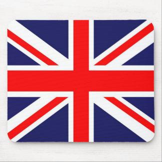 Bandera de Union Jack Mousepads