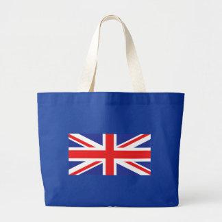 Bandera de Union Jack Reino Unido Bolsa Tela Grande