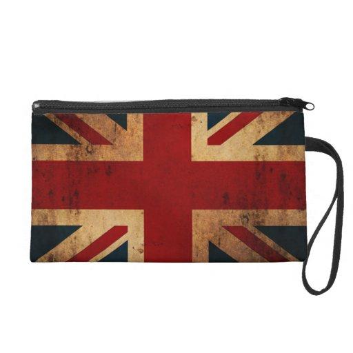 Bandera de Union Jack (vintage apenado)