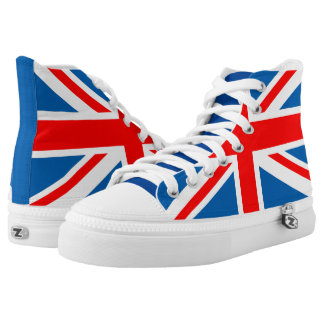 Bandera de Union Jack Zapatillas