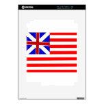 Bandera de unión magnífica iPad 2 calcomanías
