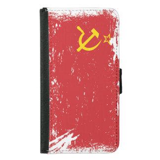 Bandera de Unión Soviética del Grunge - URSS