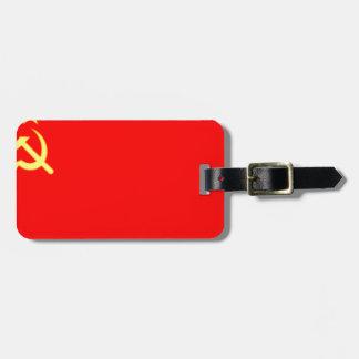 Bandera de Unión Soviética Etiqueta Para Maleta