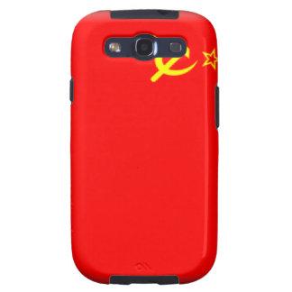 Bandera de Unión Soviética Samsung Galaxy S3 Carcasas
