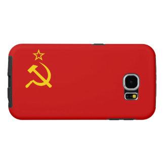 Bandera de Unión Soviética Funda Samsung Galaxy S6