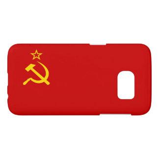 Bandera de Unión Soviética Funda Samsung Galaxy S7