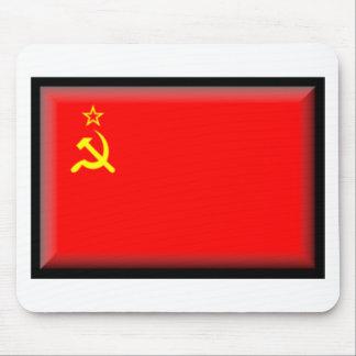 Bandera de Unión Soviética Alfombrillas De Raton