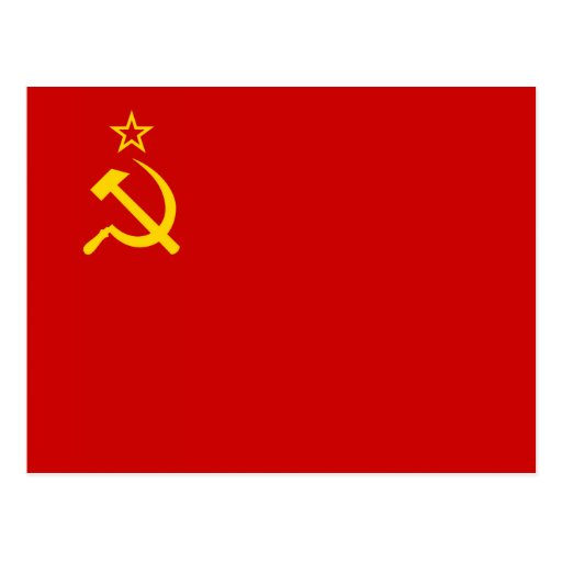 Bandera de Unión Soviética Postal