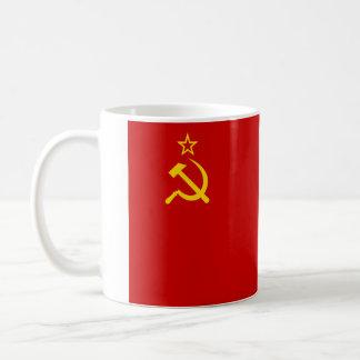 Bandera de Unión Soviética Taza