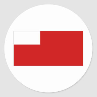 Bandera de United Arab Emirates Abu Dhabi Pegatinas Redondas