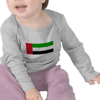 Bandera de United Arab Emirates Camisetas