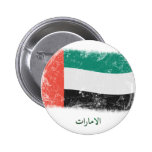 Bandera de United Arab Emirates del Grunge Pins