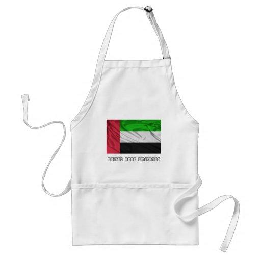 Bandera de United Arab Emirates Delantal
