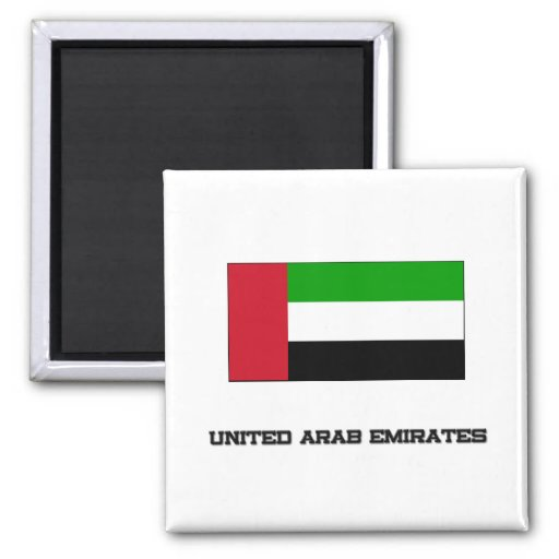 Bandera de United Arab Emirates Imán De Frigorifico