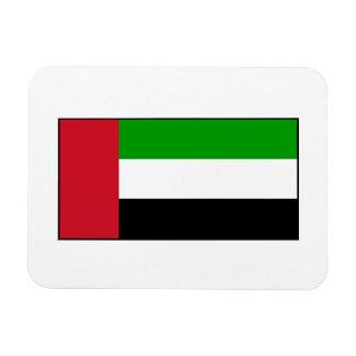 Bandera de United Arab Emirates Imán Flexible