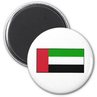 Bandera de United Arab Emirates Imán Redondo 5 Cm