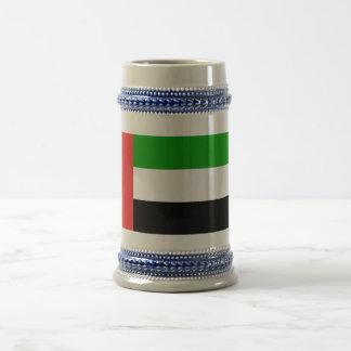 Bandera de United Arab Emirates Jarra De Cerveza