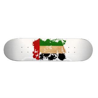Bandera de United Arab Emirates Monopatín