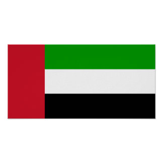 Bandera de United Arab Emirates Impresiones