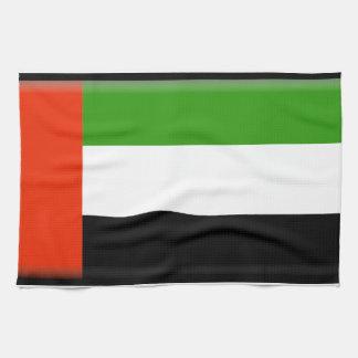Bandera de United Arab Emirates Toallas De Mano