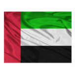 Bandera de United Arab Emirates Tarjetas Postales