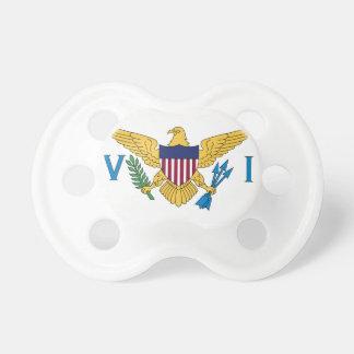 Bandera de United States Virgin Islands Chupetes Para Bebés