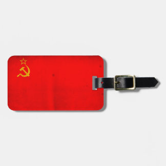 Bandera de URSS Etiquetas Maleta