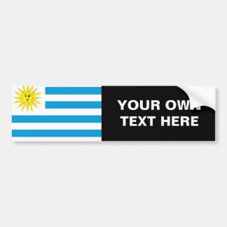 Bandera de Uruguay Pegatina Para Auto