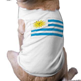 Bandera de Uruguay Camisa De Perrito