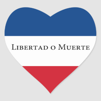Bandera de Uruguay/del Uruguayan 33. Libertad Pegatinas Corazon Personalizadas