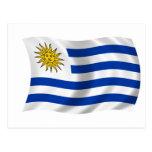 Bandera de Uruguay Postales