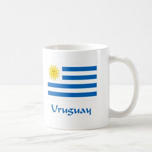 Bandera de Uruguay Tazas