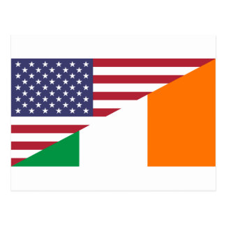 Bandera de USA/Ireland Postal