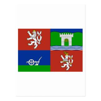 Bandera de Usti nad Labem Postales