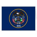 Bandera de Utah Felicitacion
