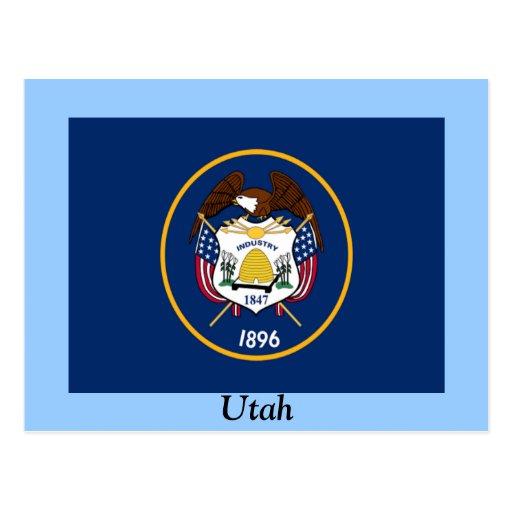 Bandera de Utah Postales