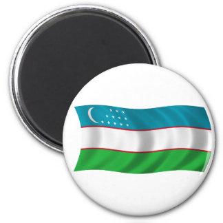 Bandera de Uzbekistán Iman