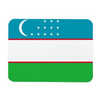 Bandera de Uzbekistán Imanes Flexibles