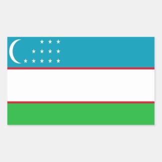Bandera de Uzbekistán Rectangular Altavoz
