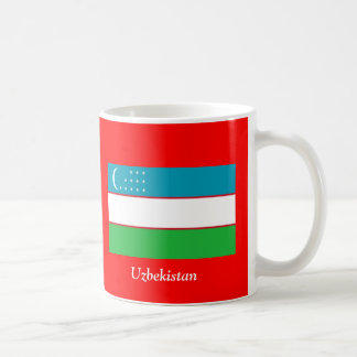 Bandera de Uzbekistán Taza