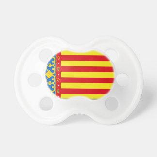 Bandera de Valencia Chupete De Bebe