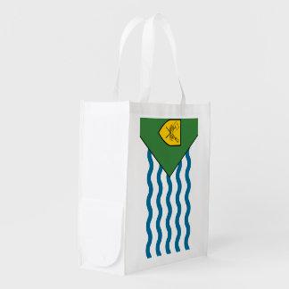Bandera de VANCOUVER Bolsa Reutilizable