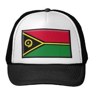 Bandera de Vanuatu Gorros Bordados