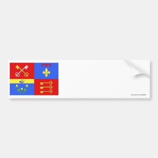 Bandera de Vaucluse Etiqueta De Parachoque