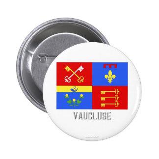 Bandera de Vaucluse con nombre Pin