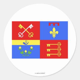 Bandera de Vaucluse Etiqueta