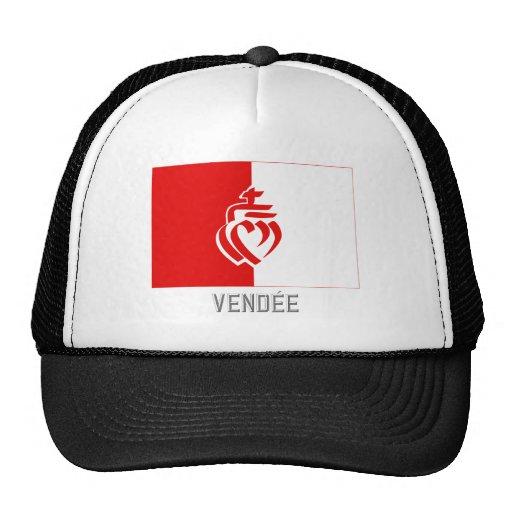 Bandera de Vendée con nombre Gorra